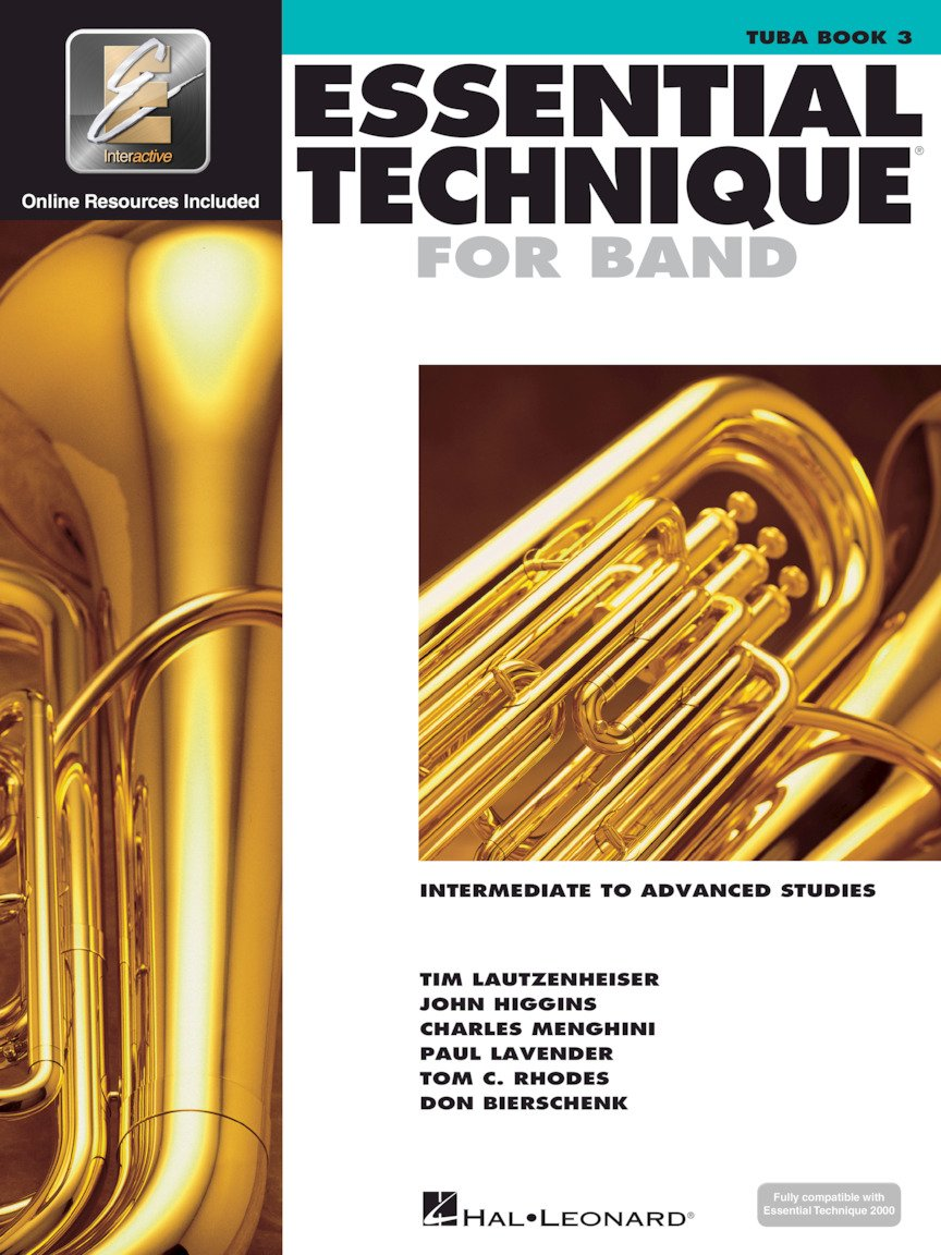 Essential Technique for Band - Tuba in C (B.C.) - Intermediate to Advanced Studies with EEi