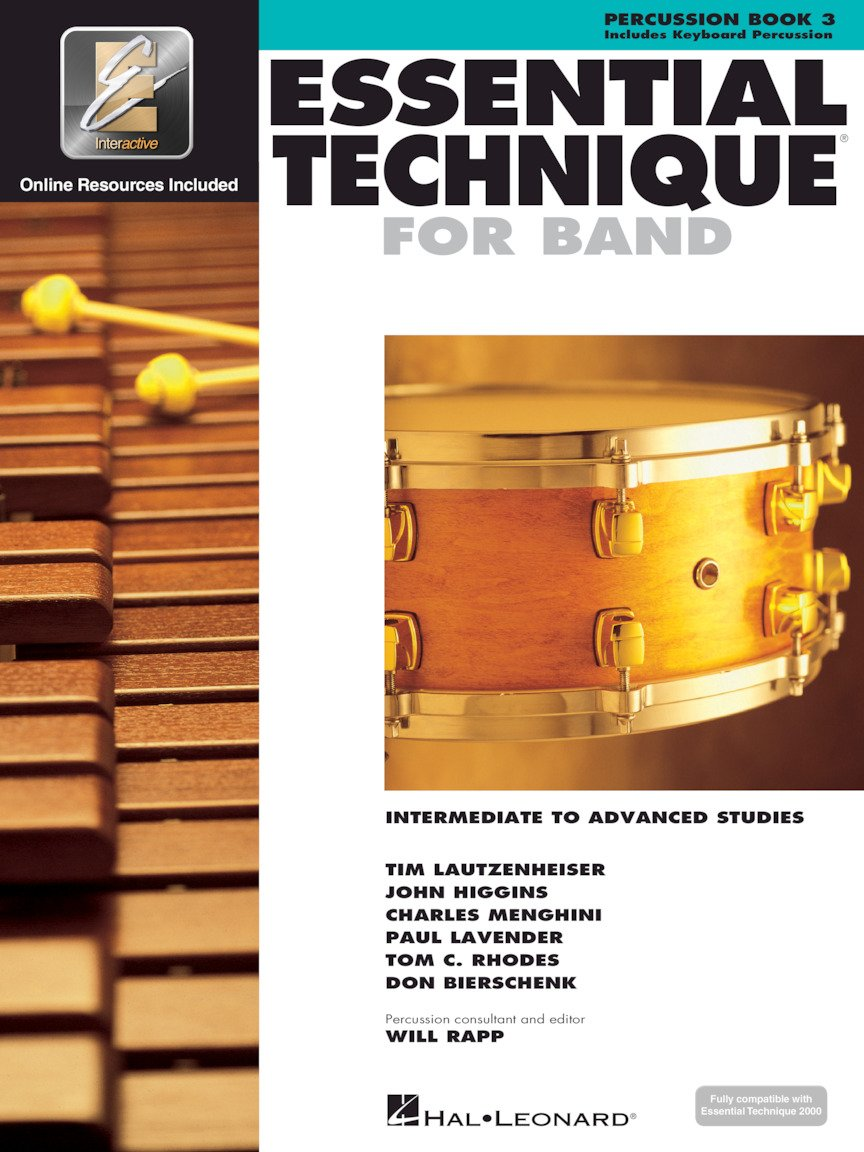 Essential Technique for Band - Percussion/Keyboard Percussion  - Intermediate to Advanced Studies with EEi