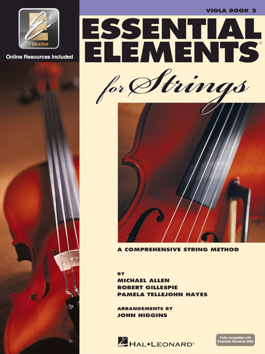 Essential Elements for Strings - Viola - Book 2 with EEi