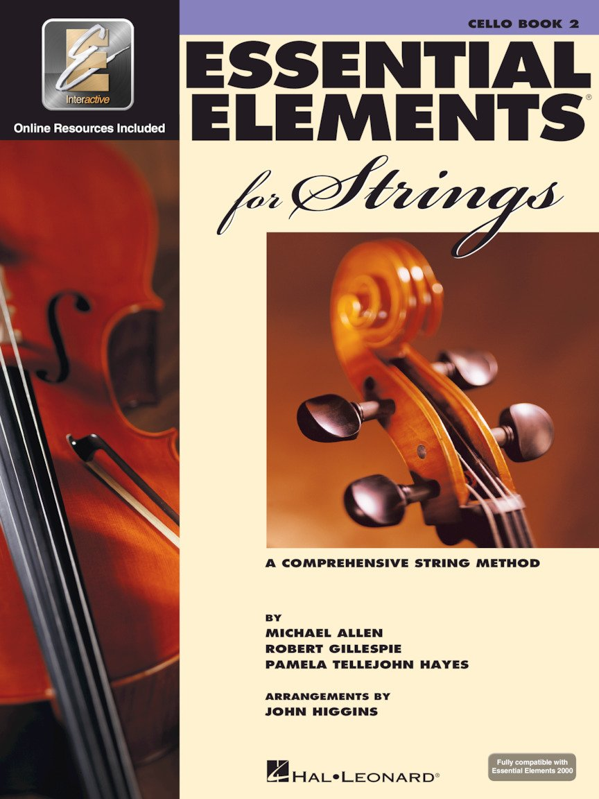 Essential Elements for Strings - Cello - Book 2 with EEi