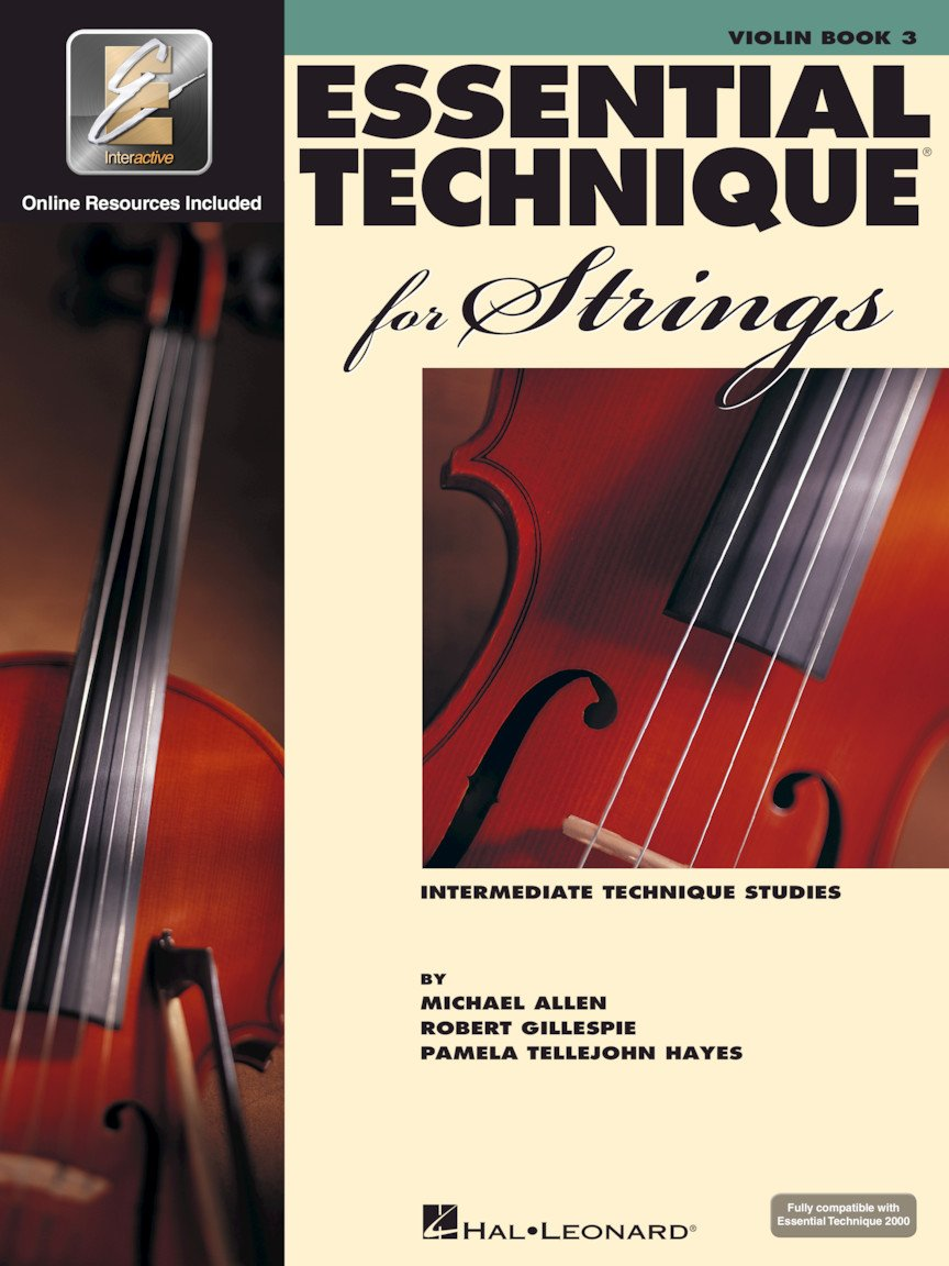 Essential Technique for Strings - Violin - Book 3 with EEi