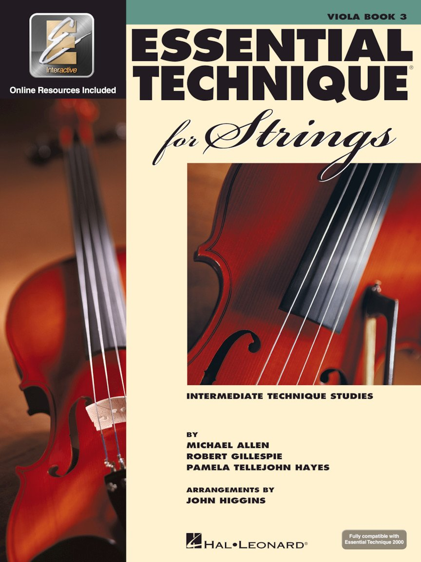 Essential Technique for Strings - Viola - Book 3 with EEi