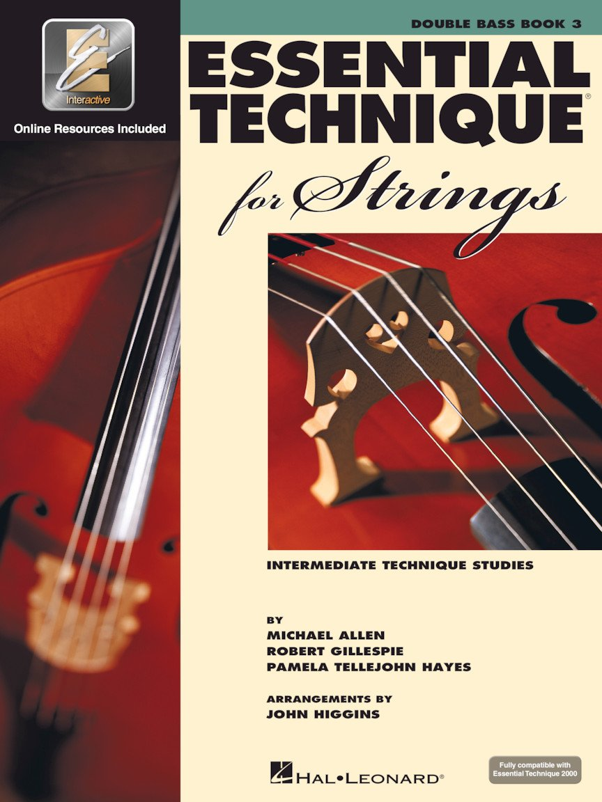Essential Technique for Strings - Double Bass - Book 3 with EEi
