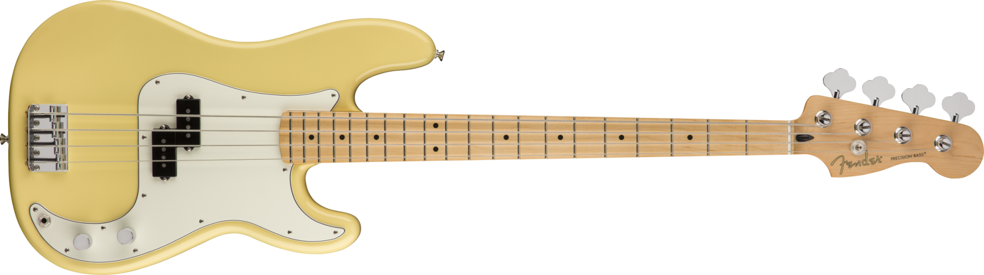 Fender Player Precision Bass with Maple neck Buttercream finish