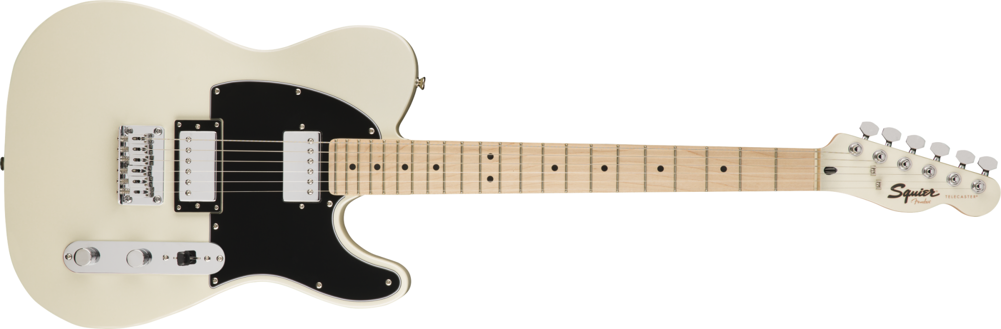 Fender Squire Contemporary Telecaster® HH Maple Fingerboard, Pearl White