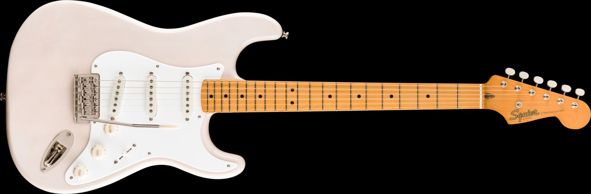Fender Squire Classic Vibe '50s Stratocaster Maple Fingerboard White Blonde