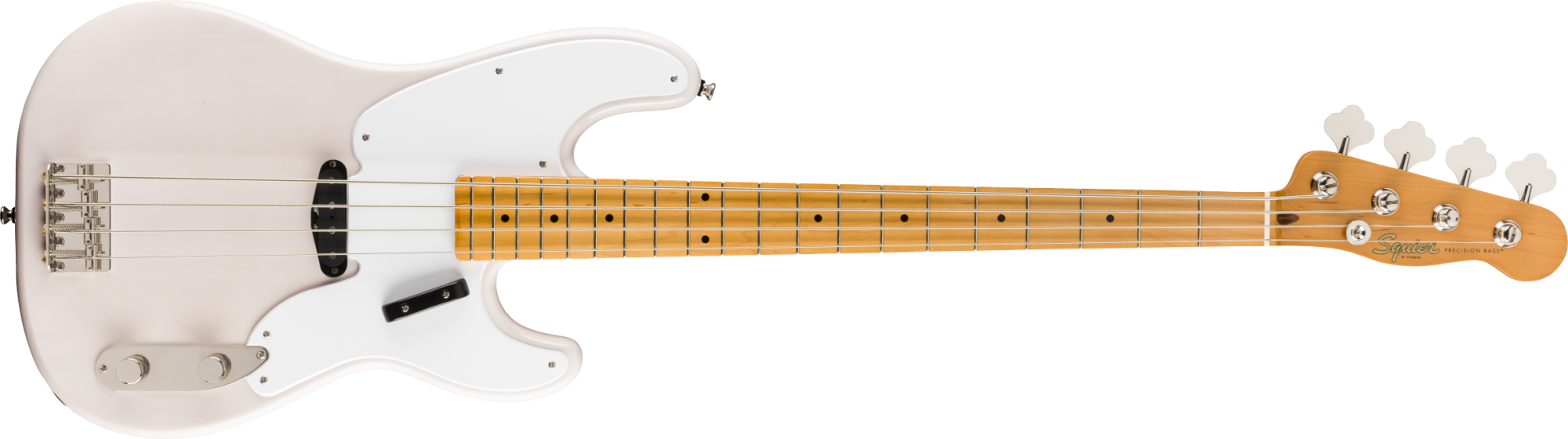 Fender Squire Classic Vibe 50s Precision Bass White Blond finish