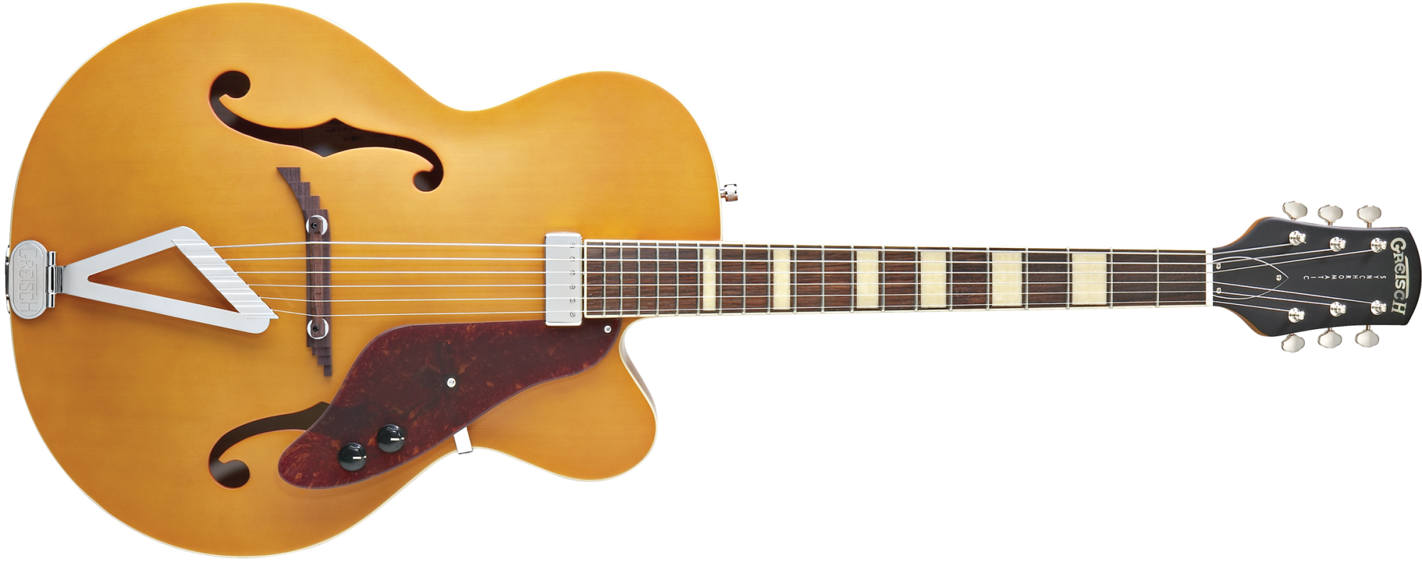 Gretsch G100CE Synchromatic Archtop Cutaway Electric Rosewood Fingerboard Flat Natural