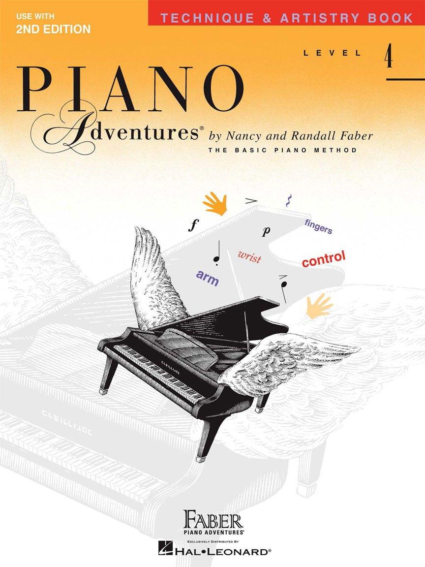 Level 4 – Technique & Artistry Book Piano Adventures