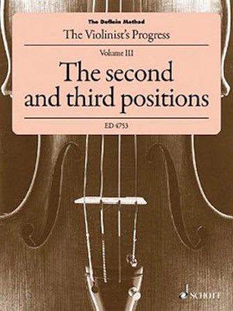 The Doflein Method Volume 3: The 2nd & 3rd Positions - Violin