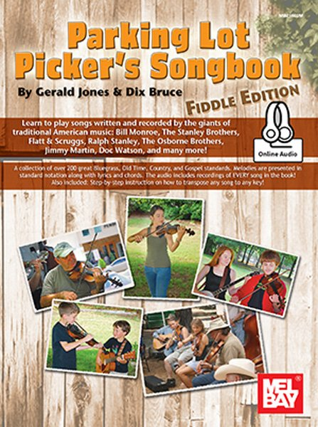 Parking Lot Picker's Songbook - Fiddle Edition #21662M (Book + Online Audio)