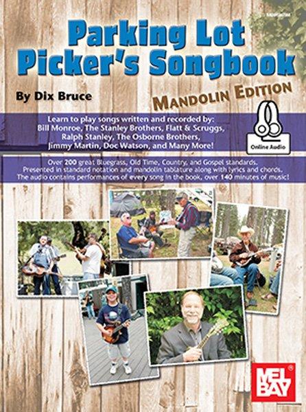 Parking Lot Picker's Songbook - Mandolin #96865M (Book + Online Audio)