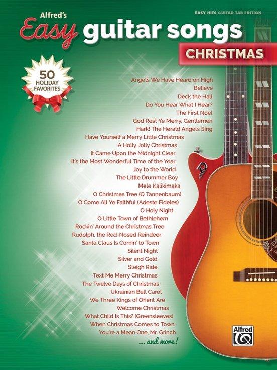 Alfred's Easy Guitar Songs: Christmas