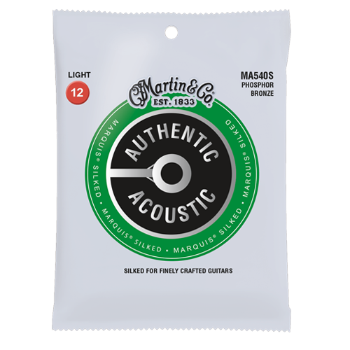 Martin Authentic Acoustic Marquis® Silked Strings - Light Gauge