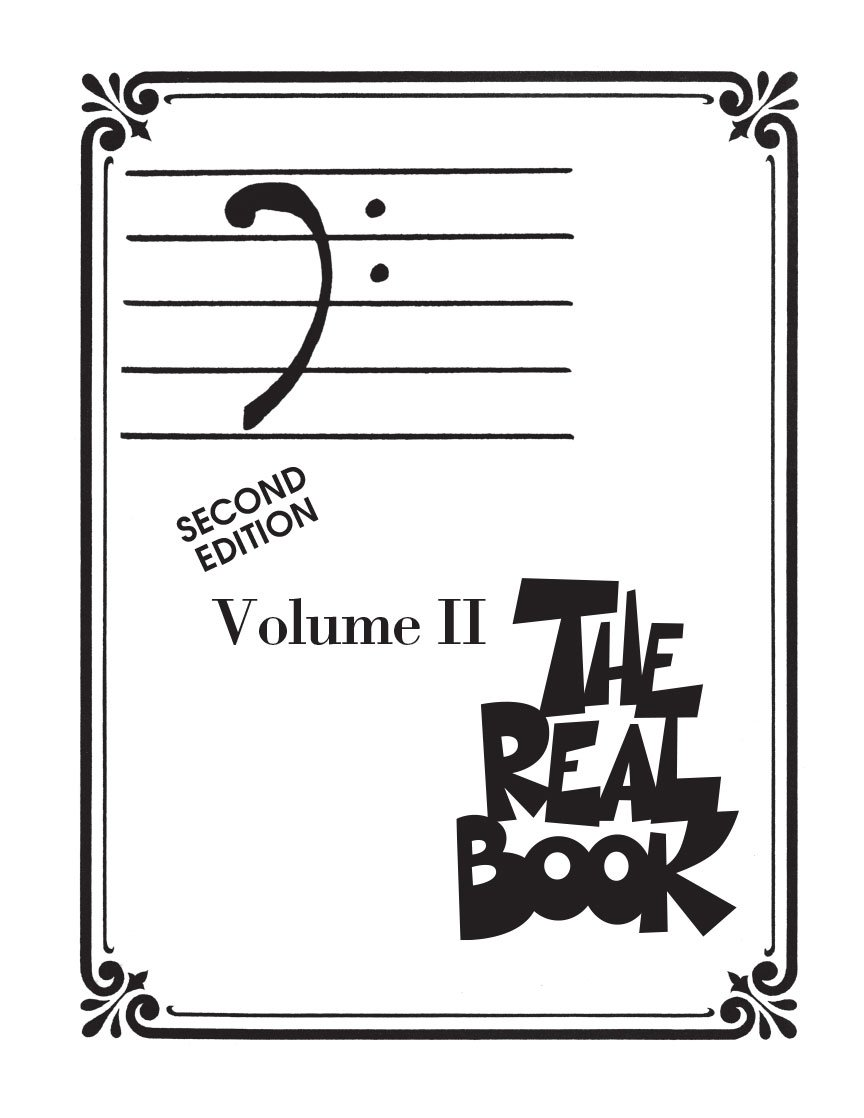 The Real Book  Volume II Second Edition Bass Clef Edition