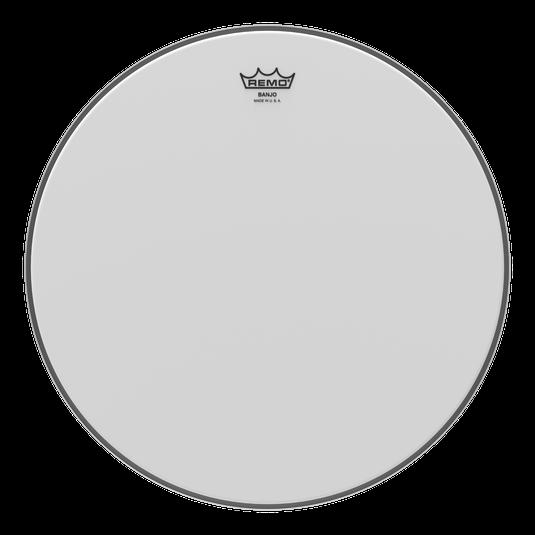 BJ-1100-M1 Remo Banjo Head 11 Medium Collar - white coated finish