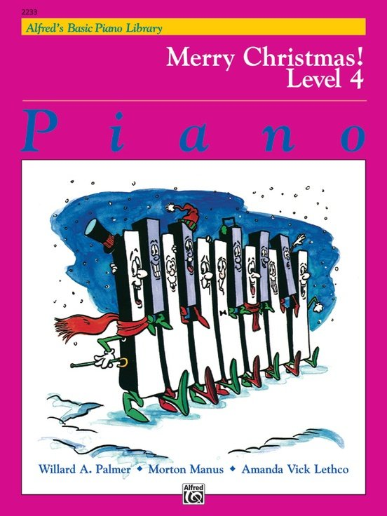 Alfred's Basic Piano Course: Merry Christmas! - Book 4