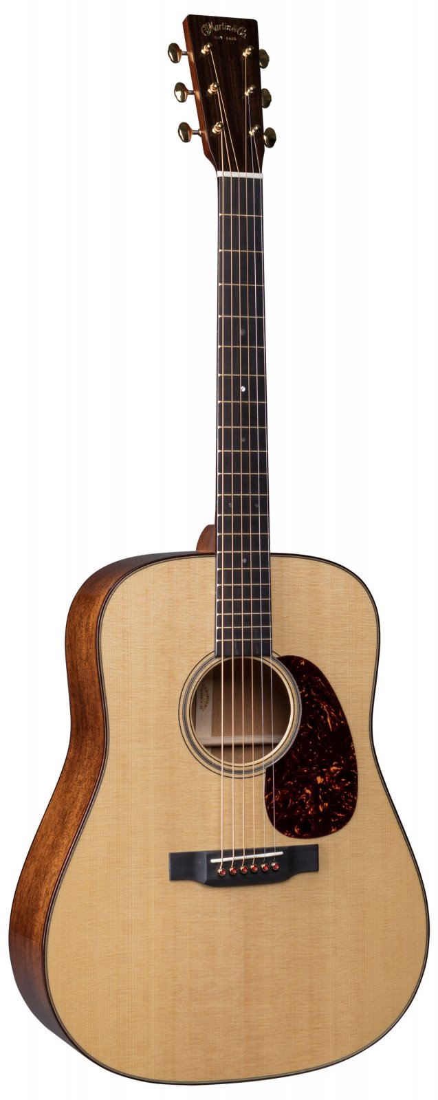 Martin D-18 Modern Deluxe with Sitka spruce Vintage Tone System (VTS)  & Ply Hardshell Case