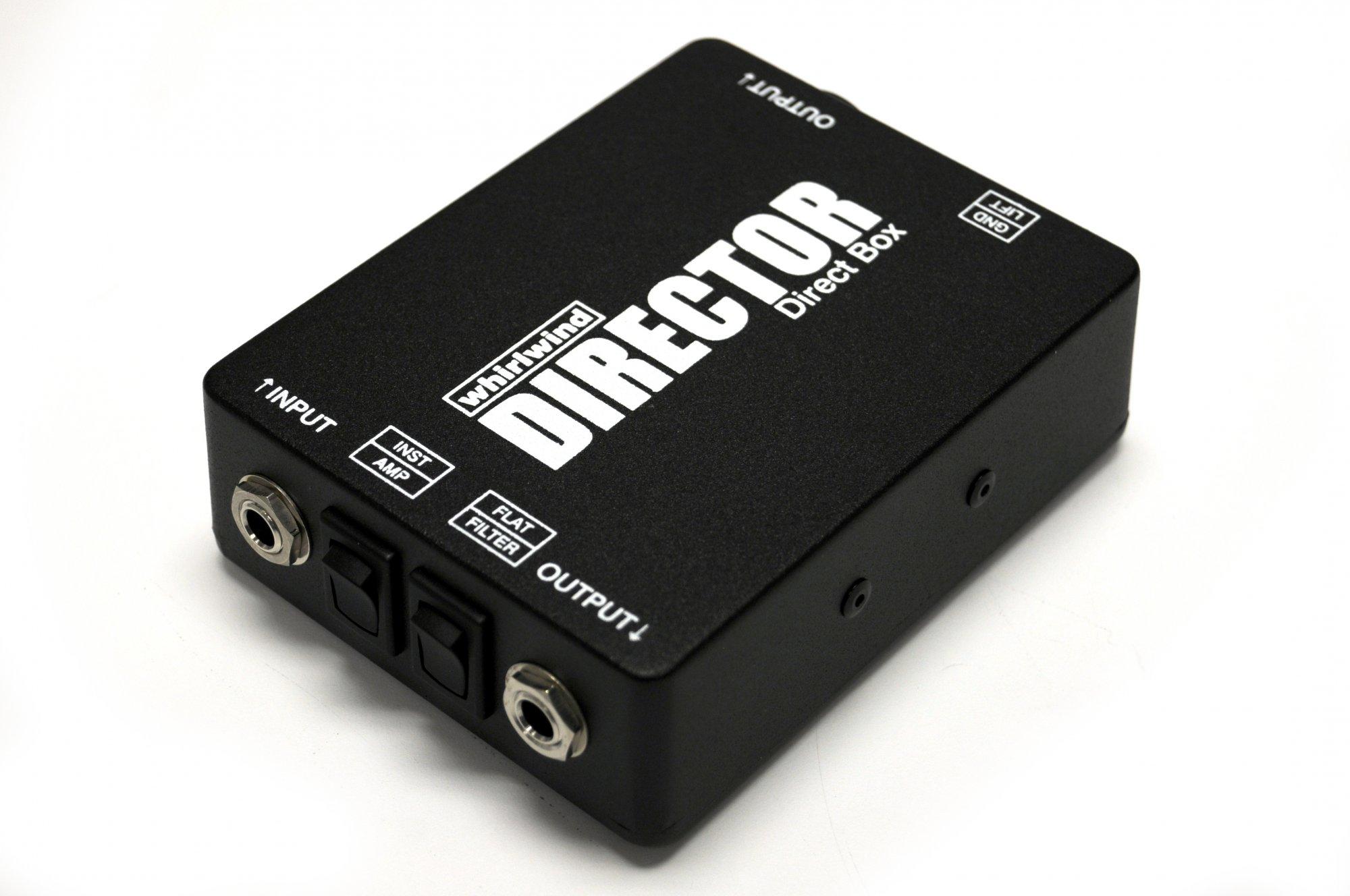 Whirlwind Director - premium passive direct box