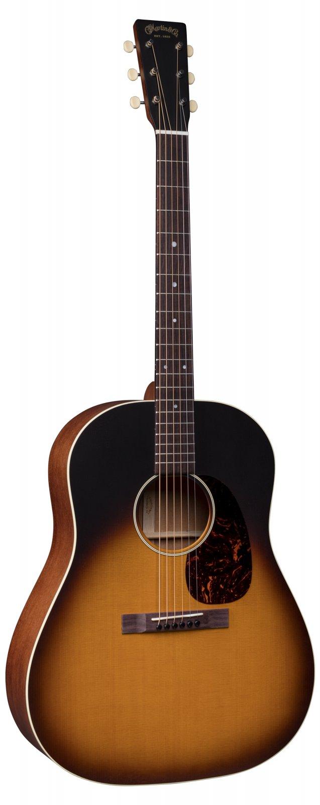 Martin DSS-17 Whiskey Sunset Slope Shoulder Dreadnaught Guitar