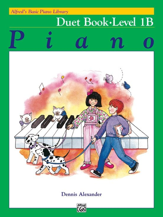 Alfred's Basic Piano Library: Duet Book 1B