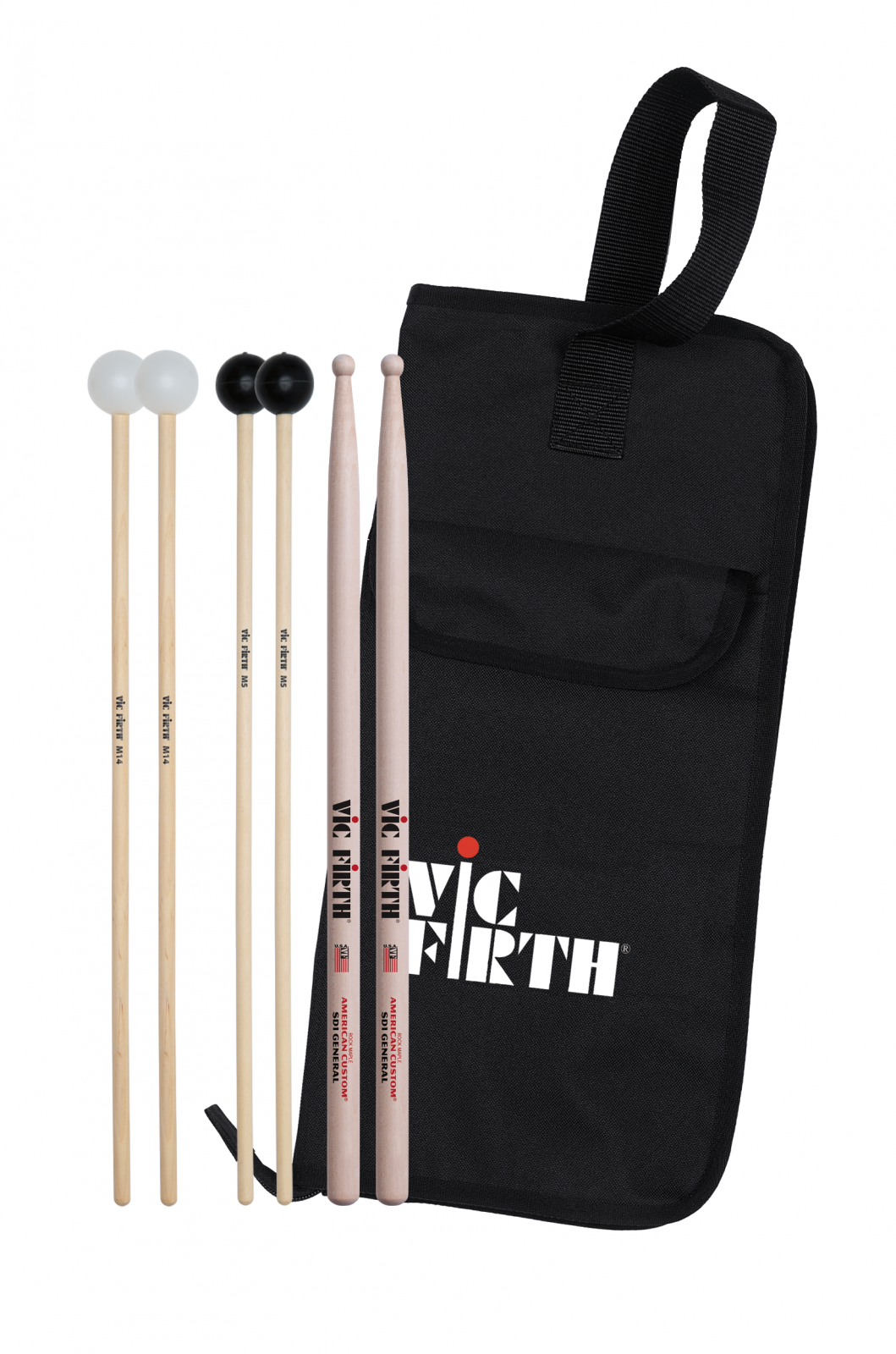 Vic Firth EP1 - Elementary Education Pack (includes SD1, M5, M14, BSB)