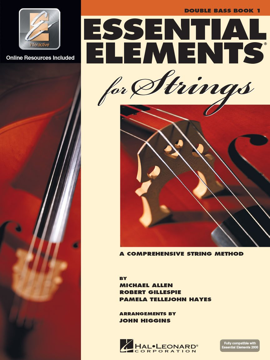 Essential Elements for Strings - Double Bass - Book 1 with EEi