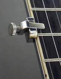 Shubb 5th String Banjo Capo - Nickel