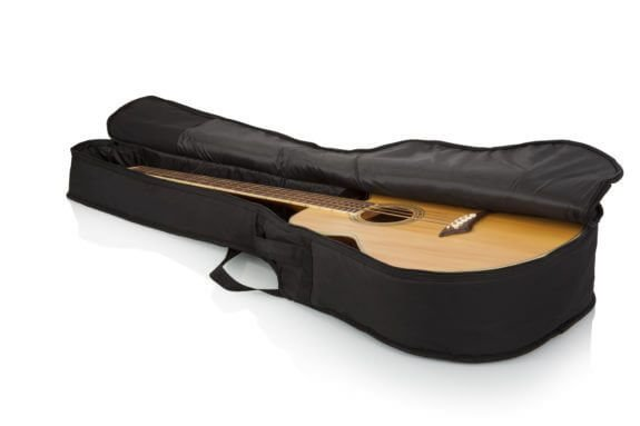 Gator GBE-AC-Bass Lightweight Gig Bag for Acoustic Bass Guitars