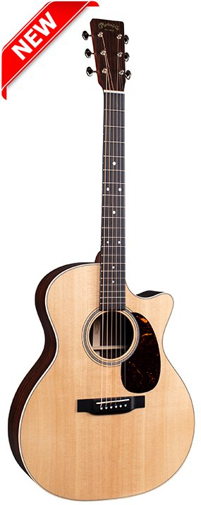 Martin GPC-16E USA Grand Performance Cutaway with Fishman MatrixVT Enhance electronics and soft shell case