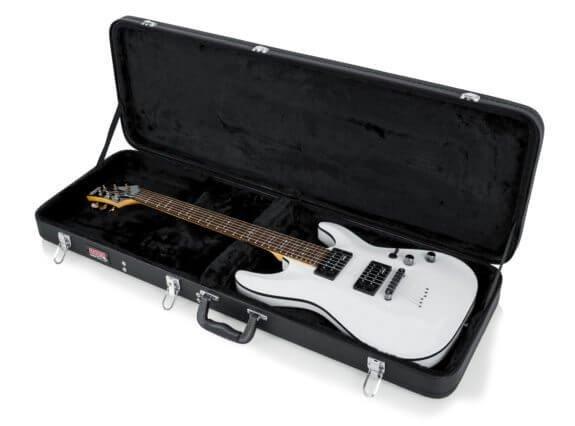 Gator GWE-Elec Hard-Shell Wood Case for Electric Guitars