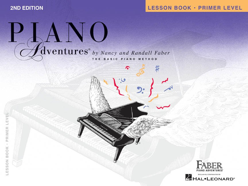Primer Level Lesson Book 2nd Edition Piano Adventures