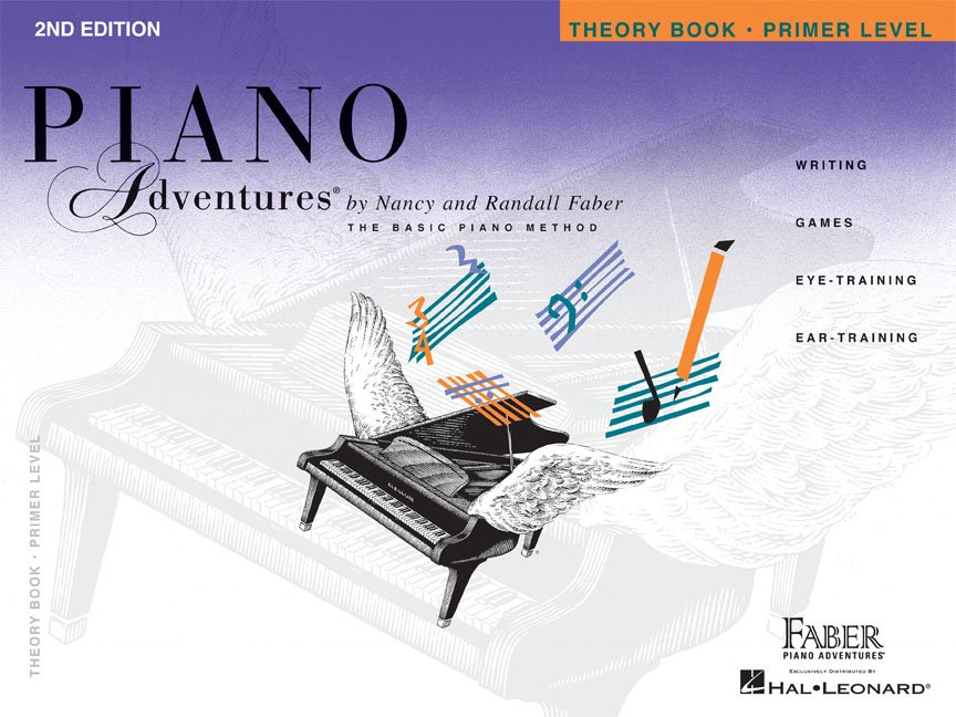 Primer Level Theory Book 2nd Edition Piano Adventures