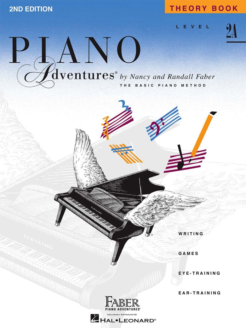 Level 2A Theory Book 2nd Edition Piano Adventures