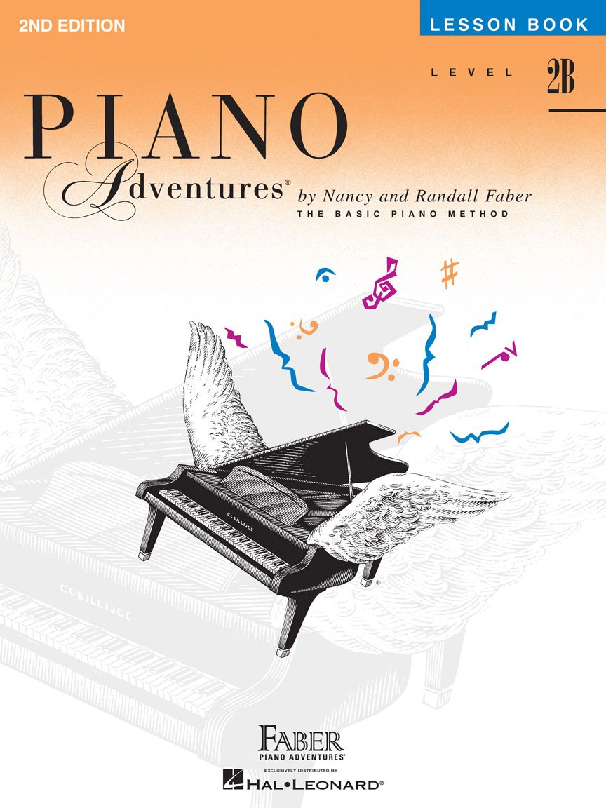 Level 2B Lesson Book 2nd Edition Piano Adventures