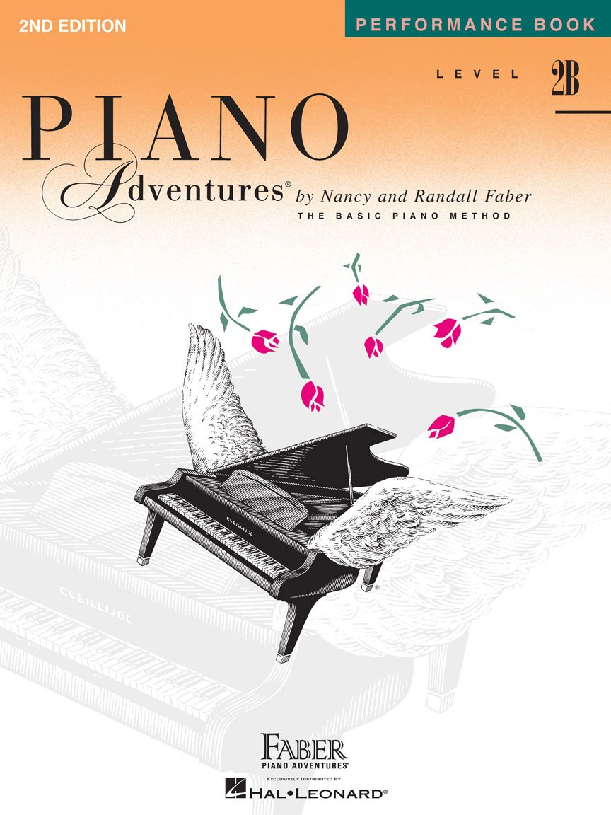 Level 2B Performance Book 2nd Edition Piano Adventures