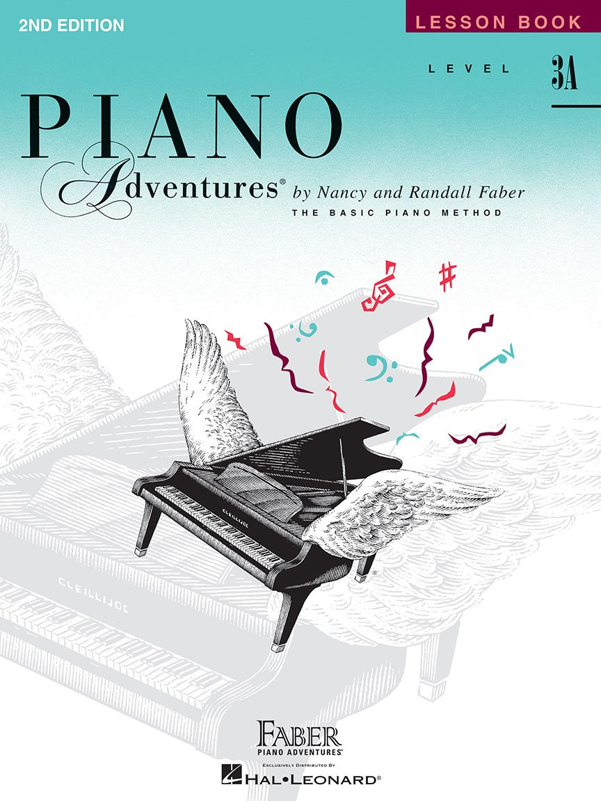 Level 3A Lesson Book 2nd Edition Piano Adventures