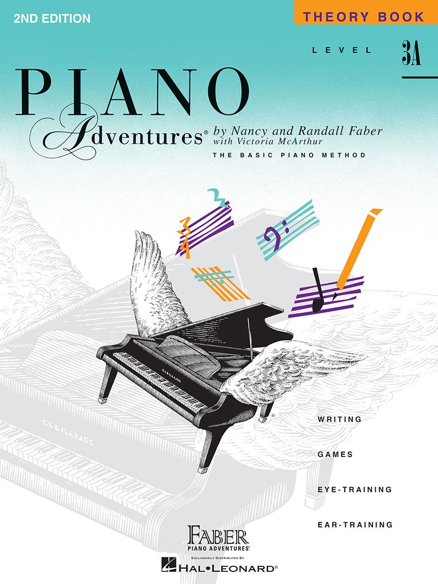 Level 3A Theory Book  2nd Edition Piano Adventures