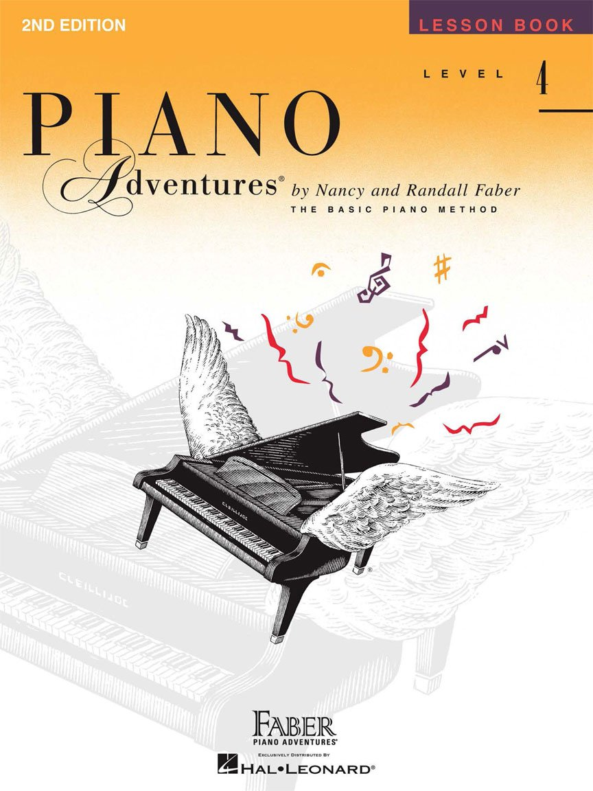 Level 4 Lesson Book 2nd Edition Piano Adventures