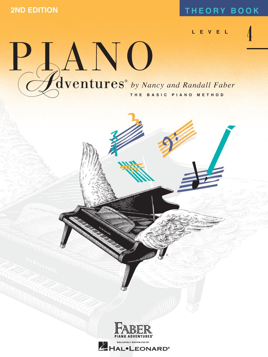 Level 4 Theory Book Piano Adventures