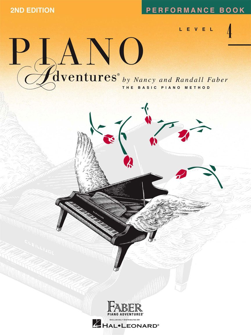 Level 4 Performance Book 2nd Edition Piano Adventures