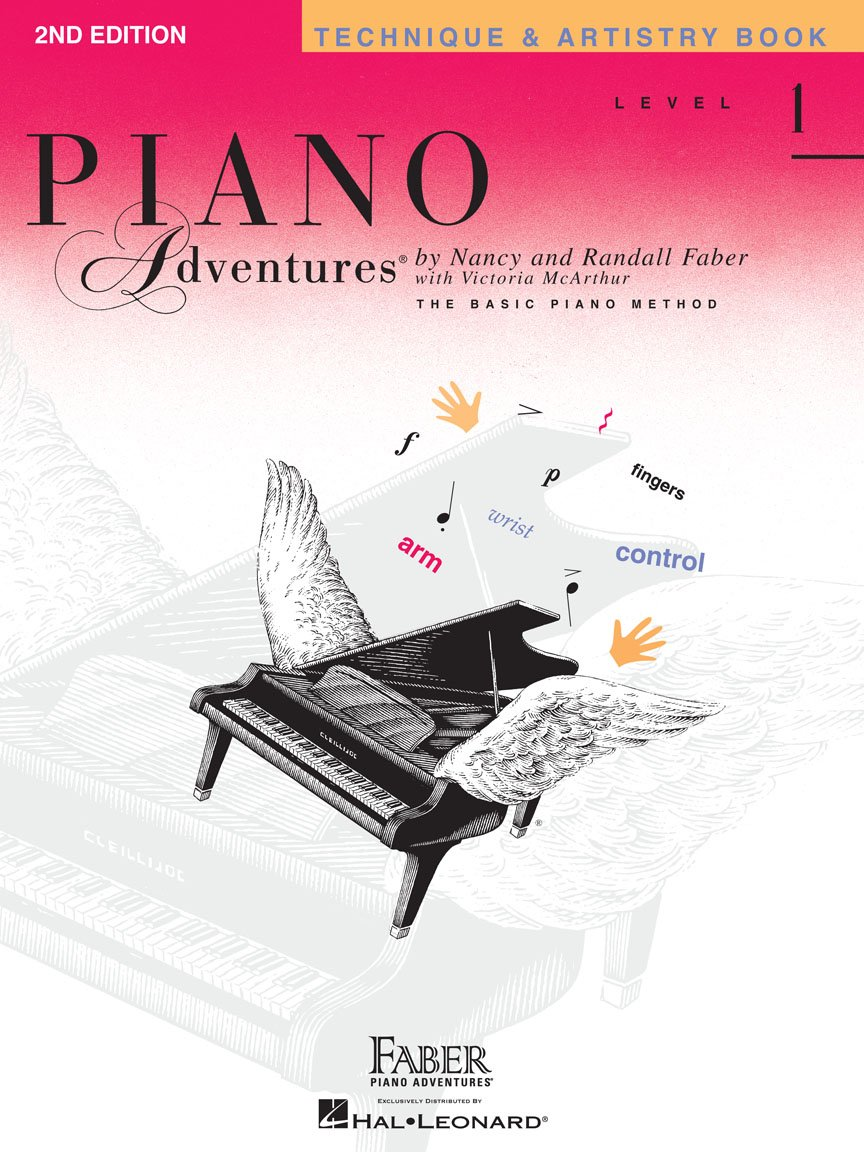 Level 1 Technique & Artistry Book 2nd Edition Piano Adventures
