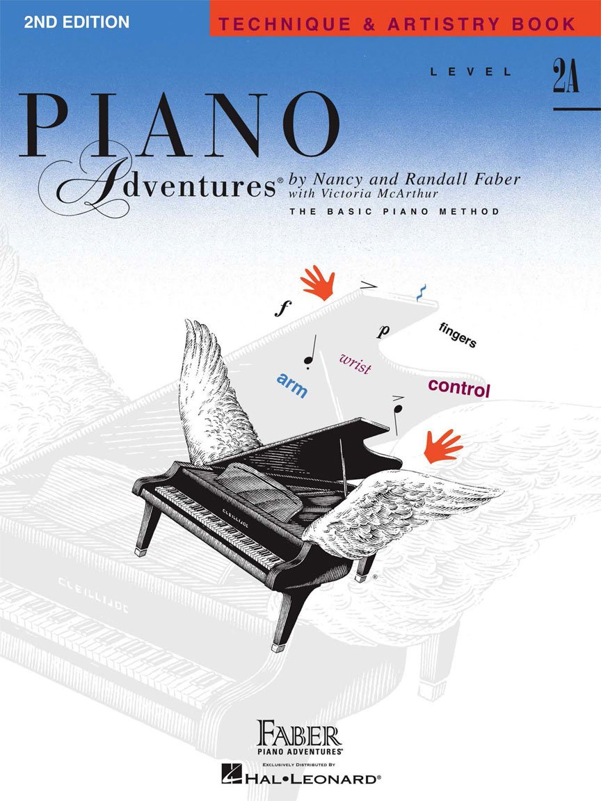 Level 2A Technique & Artistry Book 2nd Edition Piano Adventures