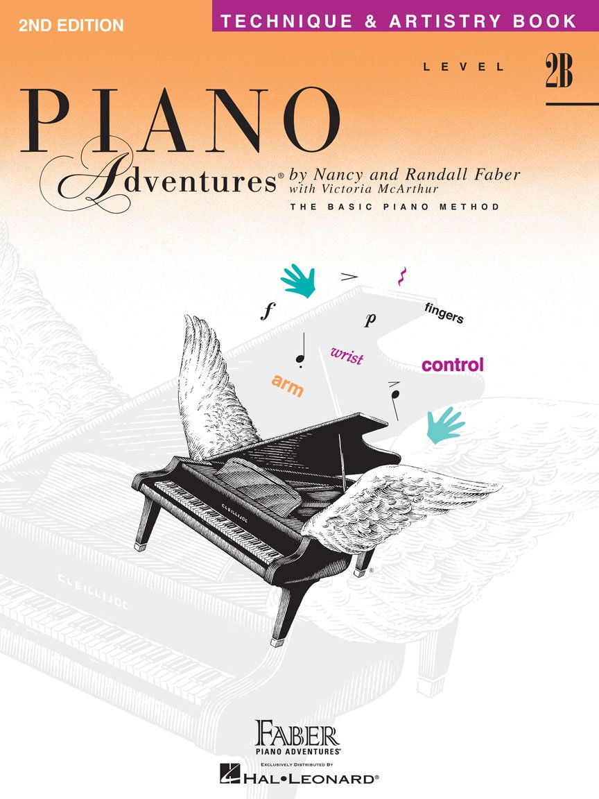 Level 2B Technique & Artistry Book 2nd Edition Piano Adventures