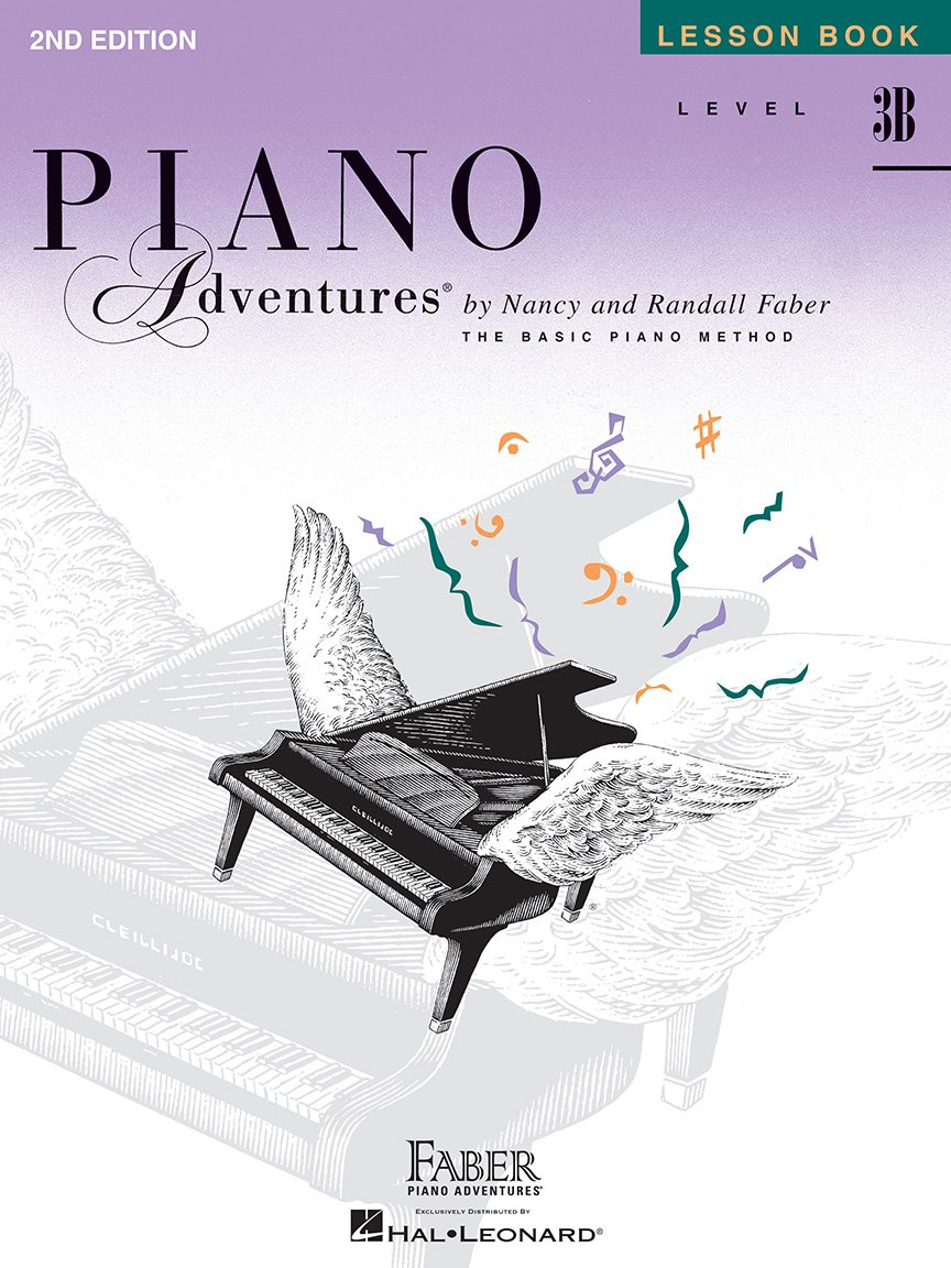 Level 3B Lesson Book 2nd Edition Piano Adventures