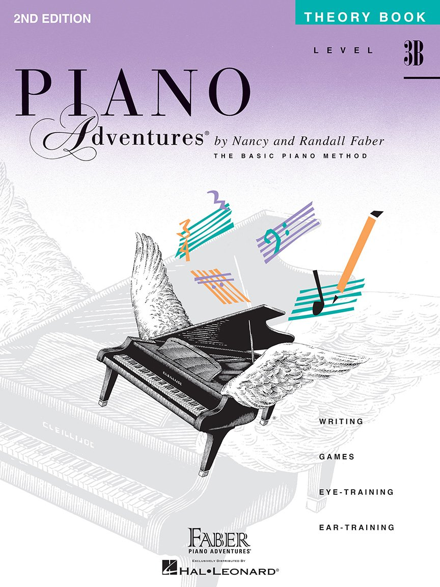 Level 3B Theory Book 2nd Edition Piano Adventures
