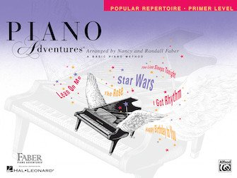 Primer Level Popular Repertoire Book Piano Adventures