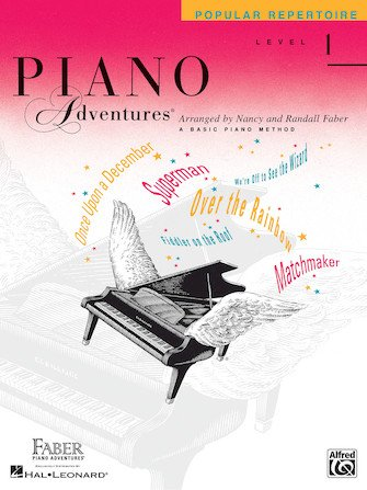 Level 1 Popular Repertoire Book Piano Adventures