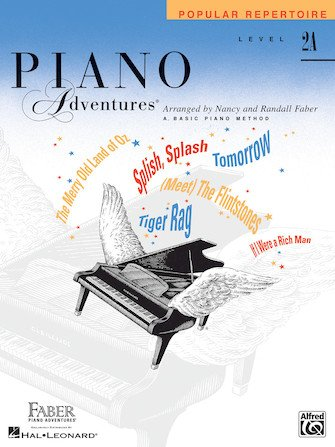 Level 2A Popular Repertoire Book Piano Adventures