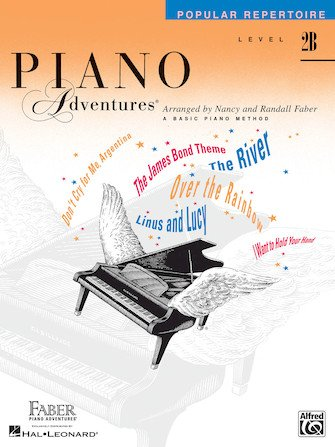 Level 2B Popular Repertoire Book Piano Adventures